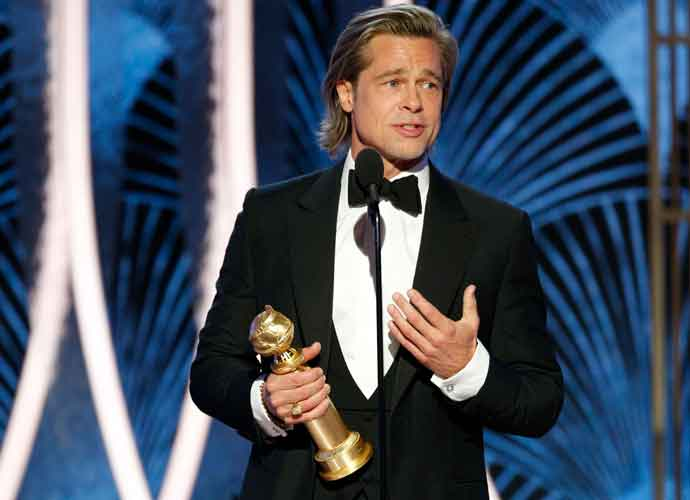 Brad Pitt & Ex Jennifer Aniston Seen Together At Golden Globes After-Party After His Win