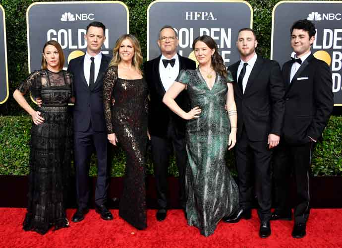 Chet Hanks, Tom Hank's Tattooed Son, Speaks In Jamaican Patois At Golden Globes, Confusing Everyone