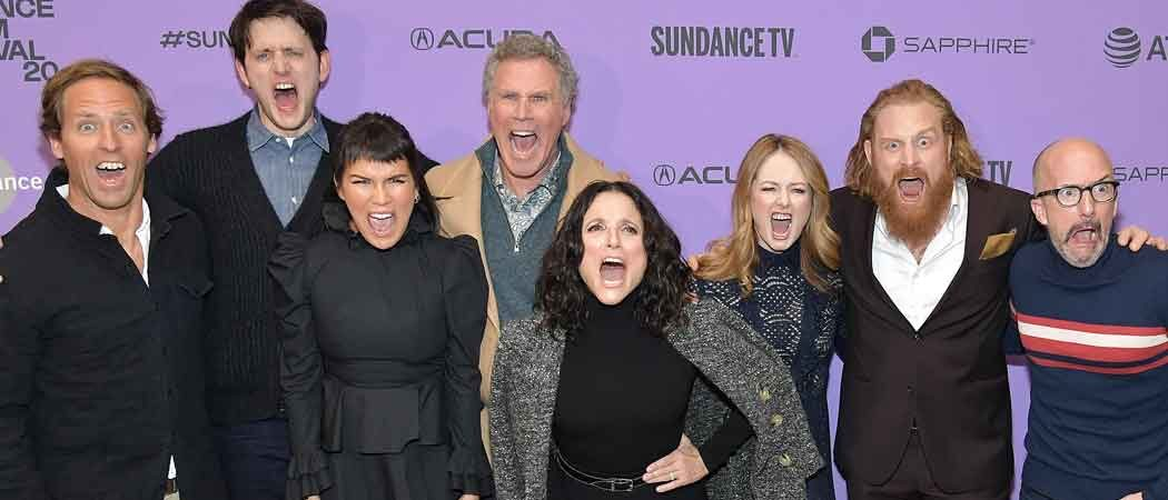 Julia Louis-Dreyfus, Will Ferrell & Cast Of 'Downhill' Ham It Up At Sundance Film Festival