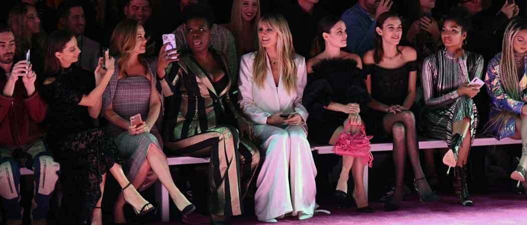 Alicia Silverstone, Leslie Jones, Heidi Klum, Rachel Bilson & Alexa Chung Sit Front Row At Christian Siriano Show At NYFW