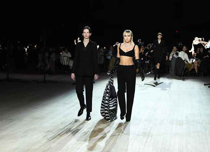 Miley Cyrus Walks The Runway For Marc Jacobs' New York Fashion Week Show
