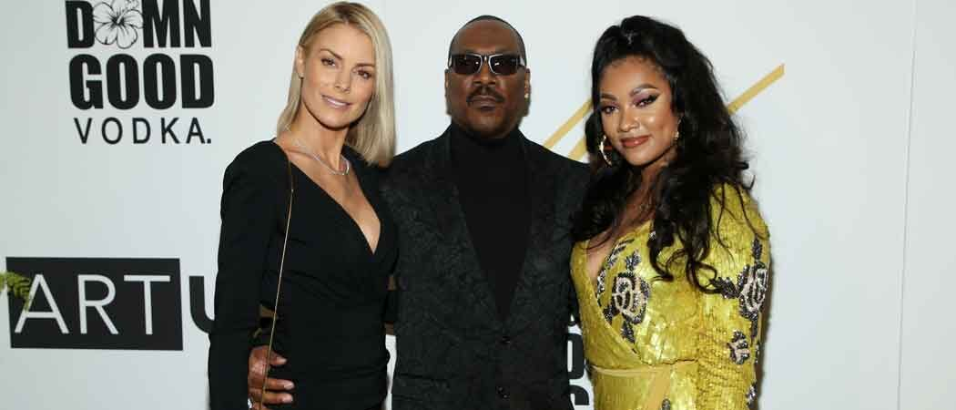 Eddie Murphy & Girlfriend Paige Butcher Attend His Daughter Bria Murphy's Art Opening