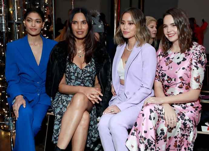 Pritika Swarup, Padma Lakshmi, Jamie Chung & Bailee Madison Sit Front Row At Veronica Beard Fashion Show