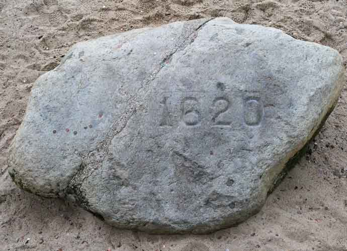 Plymouth Rock Vandalized Right Before 400th Anniversary
