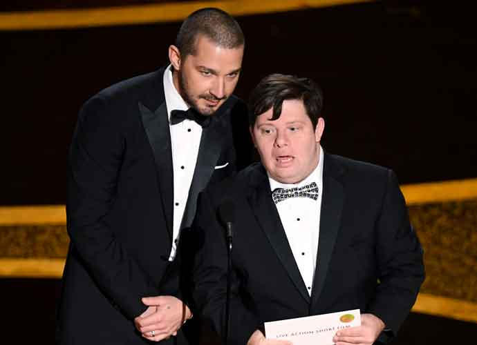 Twitter Reacts To Shia LaBeouf Laughing Impatience At Zack Gottsagen During Oscars Presentation
