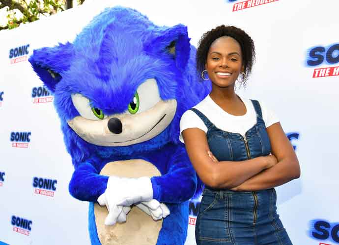 Tika Sumpter Explains How She Survived On 'Sonic The Hedgehog' Set With Jim Carrey & James Marsden