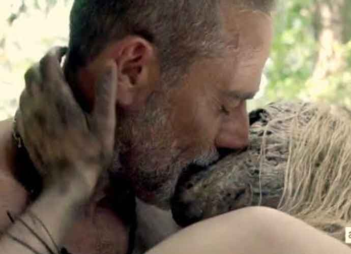 'Walking Dead' Sex Scene: Alpha Wears Mask Of Flesh While Being Intimate With Negan