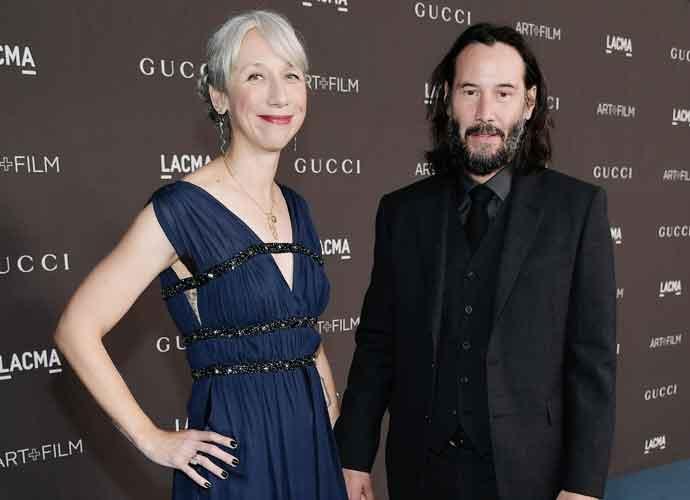 Who Is Alexandra Grant, Keanu Reeves' Grey-Haired Artist Girlfriend