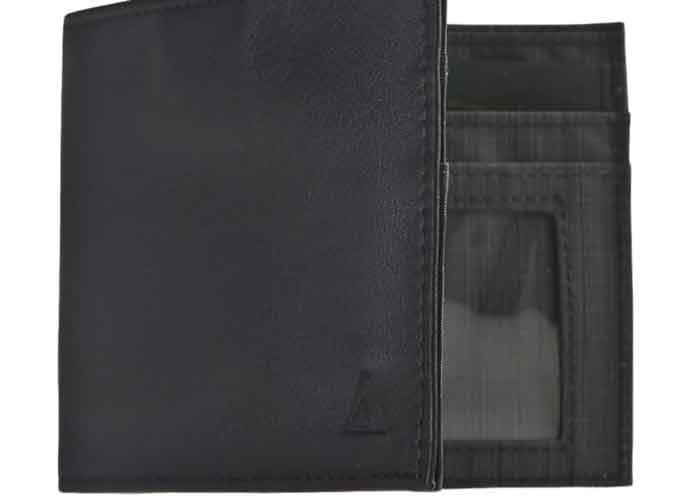 Allett Leather ID Wallet: Stylish, Slim & Safe