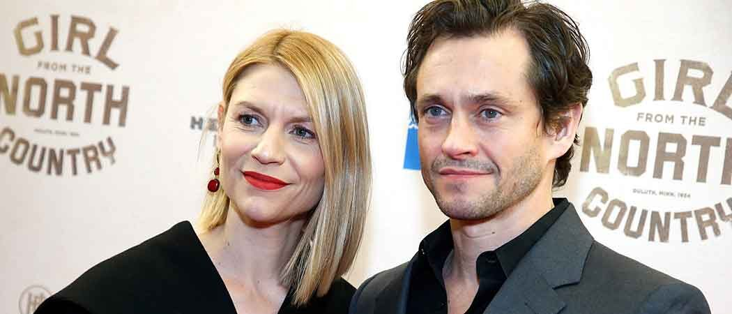 Claire Danes & Hugh Dancy Snuggle Up At 'Girl From The North Country' Premiere