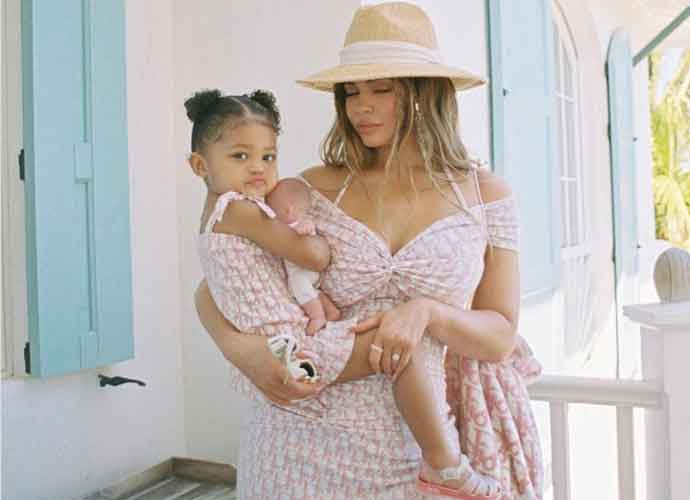 Kylie Jenner Shares Pictures Of Tropical Holiday With Daughter Stormi Webster
