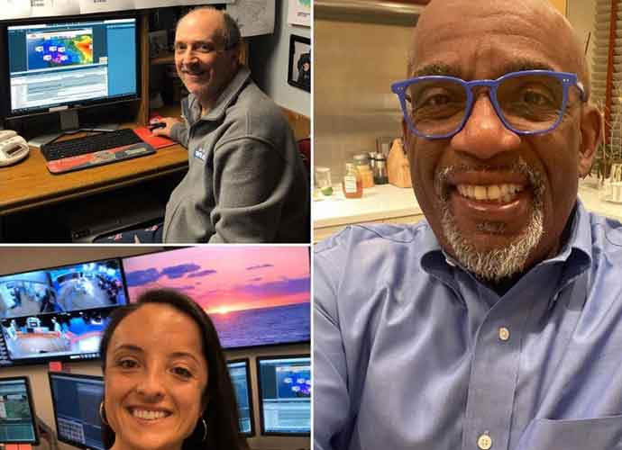 'Today Show's Al Roker Does The Weather Live From His Kitchen During Coronavirus Self-Isolation