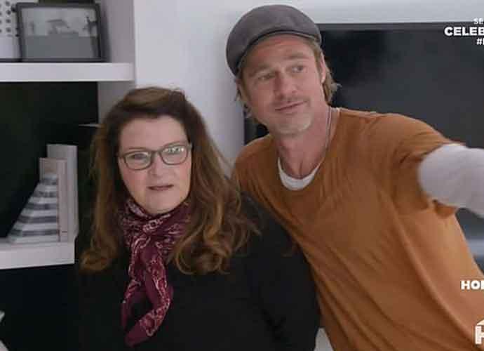 Watch: Brad Pitt Helps Build New Suite For Friend Jean Black On HGTV's 'Celebrity IOU'