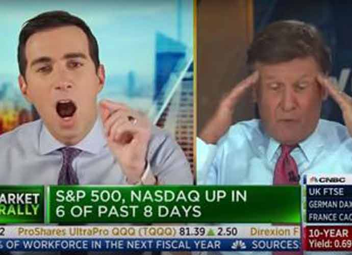 Watch: CNBC Segment Explodes As Andrew Ross Sorkin Yells At Joe Kernen – 'You Are In The Tank For Trump!'