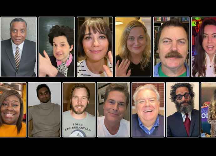 Watch: 'Parks And Recreation' Reunion Special Features Musical Tribute To Little Sebastian, Benefits COVID-19 Victims