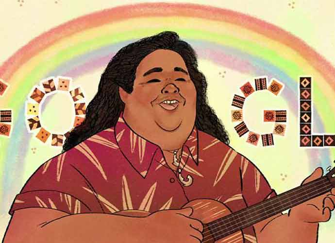 """Over The Rainbow"" Singer Israel Kamakawiwo'ole Featured On Google Doodle"