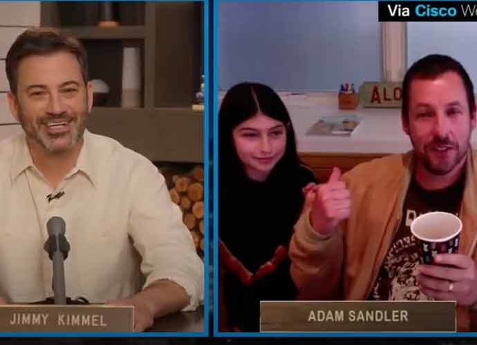 Adam Sandler's Daughter, Sunny Sandler, Crashes His 'Jimmy Kimmel' Interview