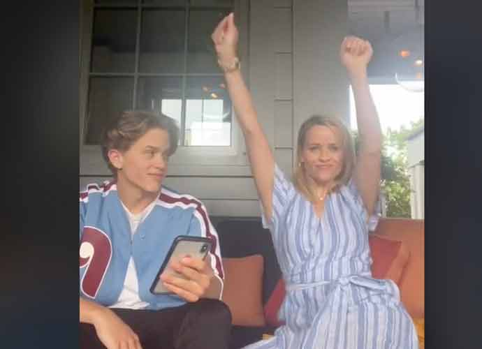 "WATCH: Reese Witherspoon Announces Son Deacon Phillippe's First Single ""Long Run"" On TikTok"