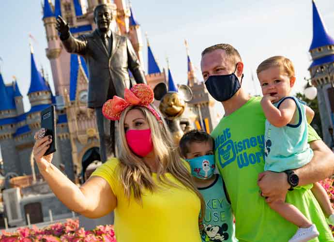 Disney Reopens Florida Parks Despite Record-Breaking Increase In Coronavirus Cases