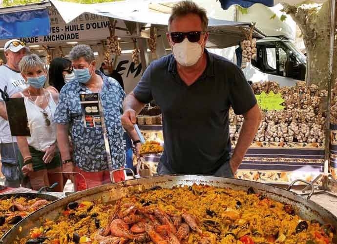 Piers Morgan Heads To Saint Tropez For COVID-19 Vacation