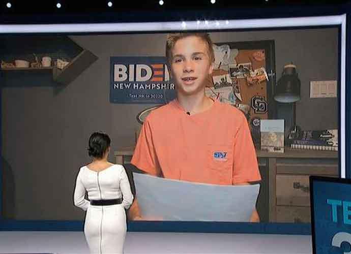 WATCH: Brayden Harrington, 13, Tells DNC How Joe Biden Helped Him Overcome His Stutter