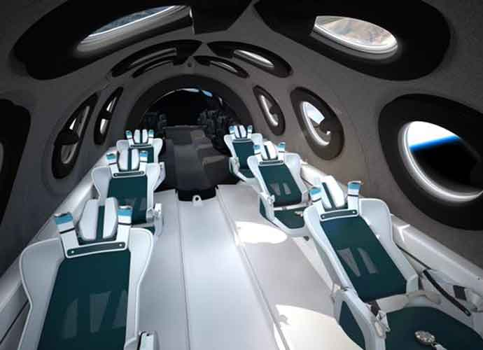 Virgin Galactic Unveils Design Of Spaceship's Cabin [Photos]