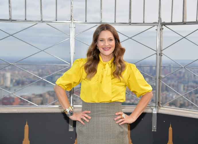 Drew Barrymore Lights Up Empire State Building To Mark Debut Of New Talk Show