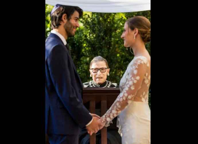 Supreme Court Justice Ruth Bader Ginsburg Officiates Wedding In-Person Weeks After Hospitalization
