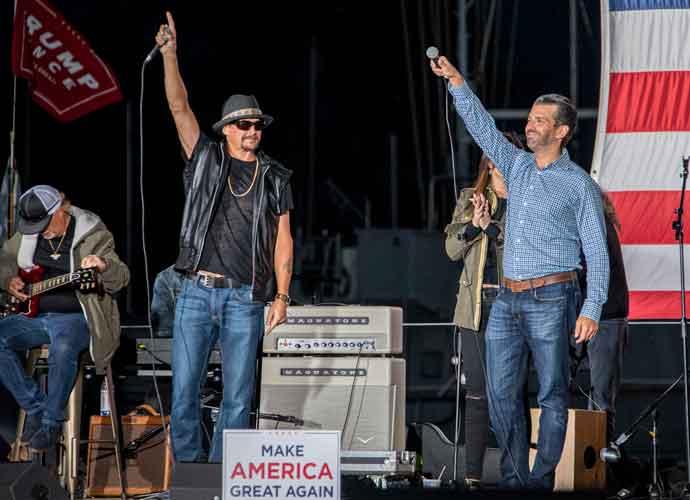 Kid Rock & Donald Trump Jr. Speak During Trump 2020 Rally In Michigan [Photos]
