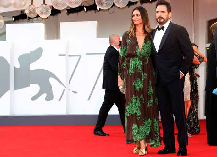 Matt Dillon & Girlfriend Roberta Mastromichele Walk Red Carpet At 77th Venice Film Festival