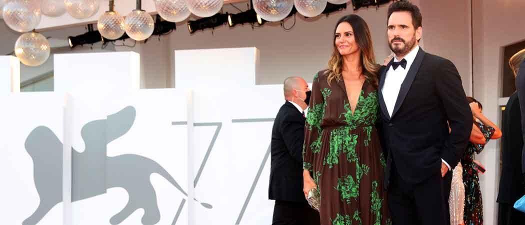 Matt Dillon & Girlfriend Roberta Mastromichele Walk Red Carpet At 77th Venice Film Festival