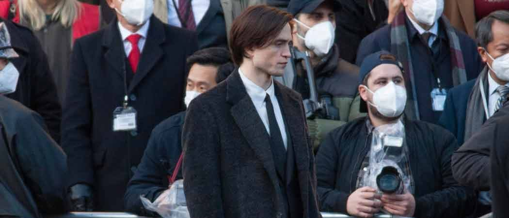 PHOTOS: Robert Pattinson Films 'The Batman' In Liverpool
