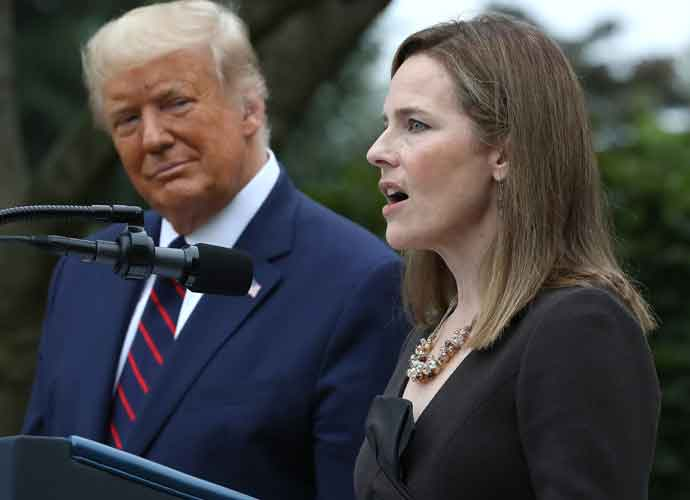 Supreme Court Nominee Amy Coney Barrett Tests COVID-19 Negative After Being At Super-Spreader White House Event