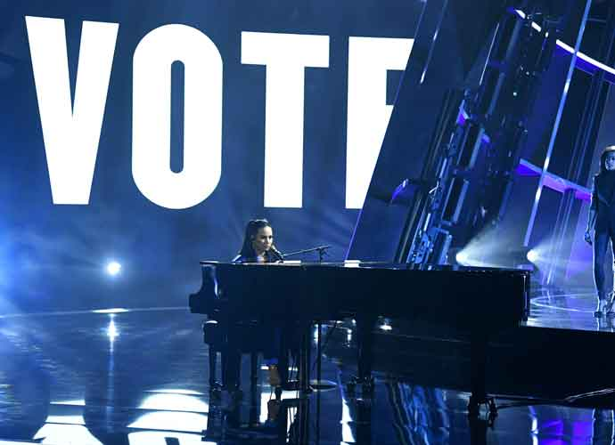 Celebrities Respond To Nail-Biter 2020 Election: Demi Lovato, Kirstie Alley & Chrissy Teigen React