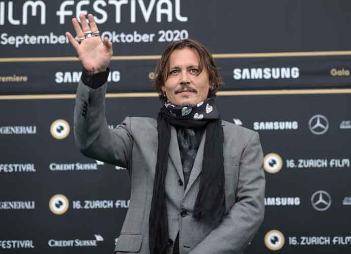 Johnny Depp Attends Premiere Of 'Crock Of Gold' At Zurich Film Festival