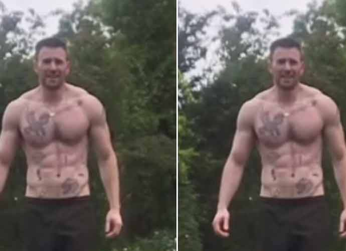 Chris Evans Flaunts Tattoos & Ripped Body Following NSFW Photo Post