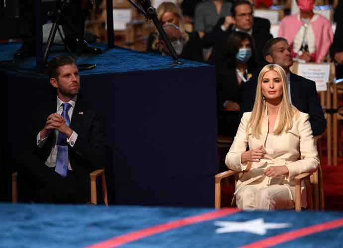 Defying COVID Restrictions, Ivanka, Donald Jr., Eric & Tiffany Trump Removed Masks During Cleveland Debate