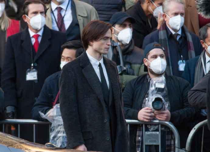 PHOTOS: Robert Pattinson Films 'The Batman' In Liverpool