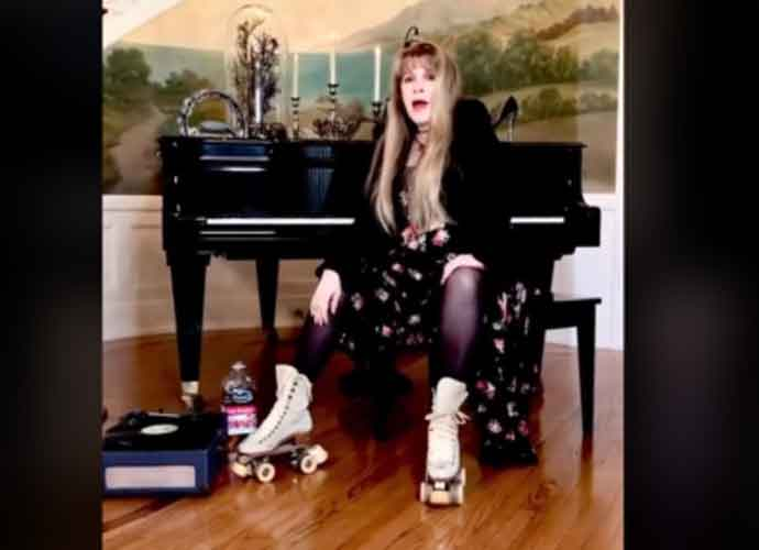 "WATCH: Stevie Nicks Makes Her First TikTok Appearance On Roller Skates Singing ""Dreams""!"
