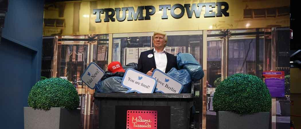 Predicting Trump Defeat, Madame Tussauds Berlin Throws Out President's Figurine