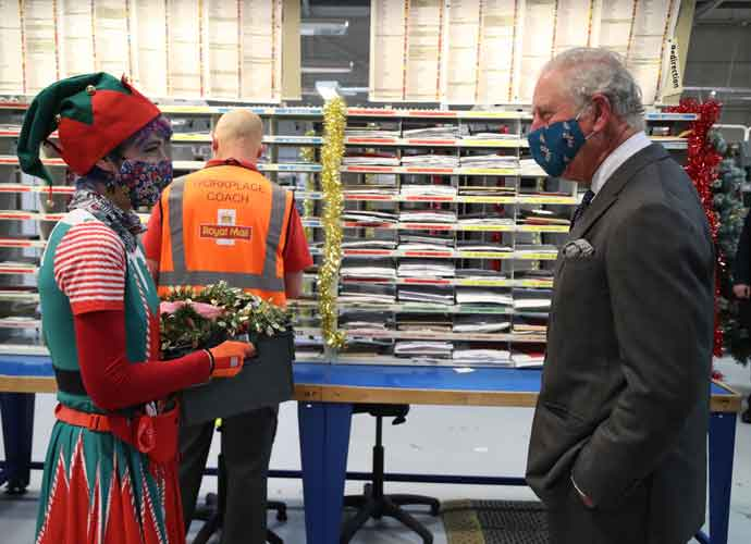 Prince Charles Thanks Postal Workers For Their Work During Pandemic