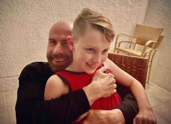 John Travolta Celebrates Son Benjamin Travolta's 10th Birthday With A Rare Photo