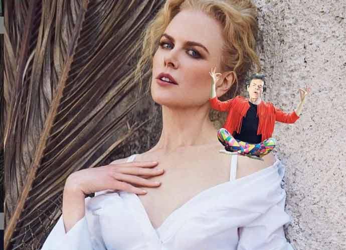 Nicole Kidman Takes Part In 'Elf On The Shelf'-Inspired Challenge