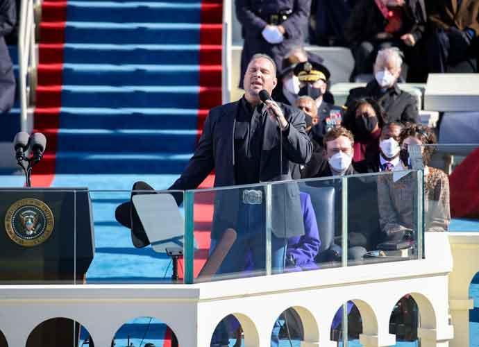 "WATCH: Garth Brooks Performs ""Amazing Grace"" At Biden Inauguration"