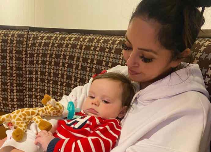 Vanessa Bryant Cuddles Goddaughter Named After Her Late Daughter Gigi On Anniversary Crash