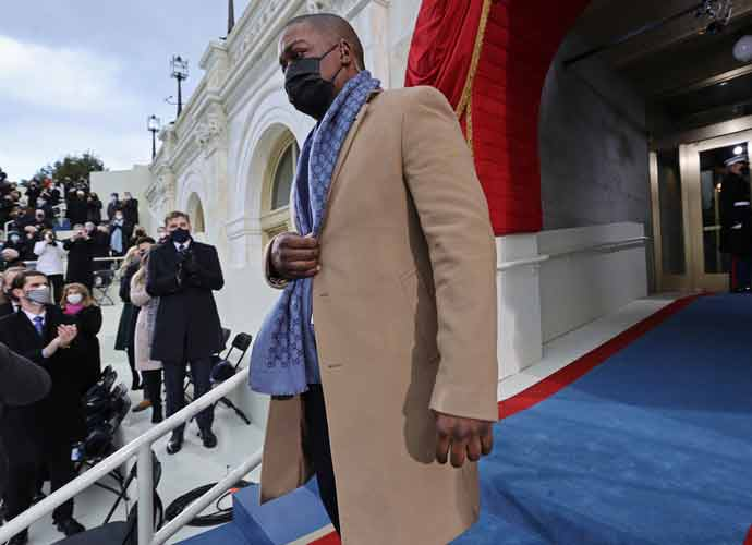 Capitol Police Hero Eugene Goodman Attends Biden Inauguration As A VIP
