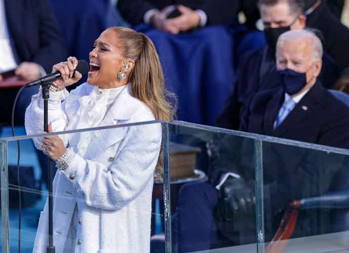 WATCH: Jennifer Lopez Performs Musical Medley At Biden's Inauguration