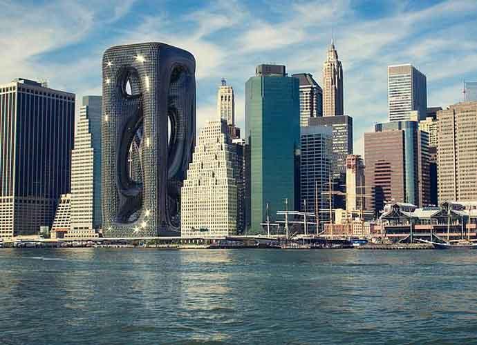 Turkish Architect Firm Renders Amazing, Twisting Sci-Fi New York City Skyscraper