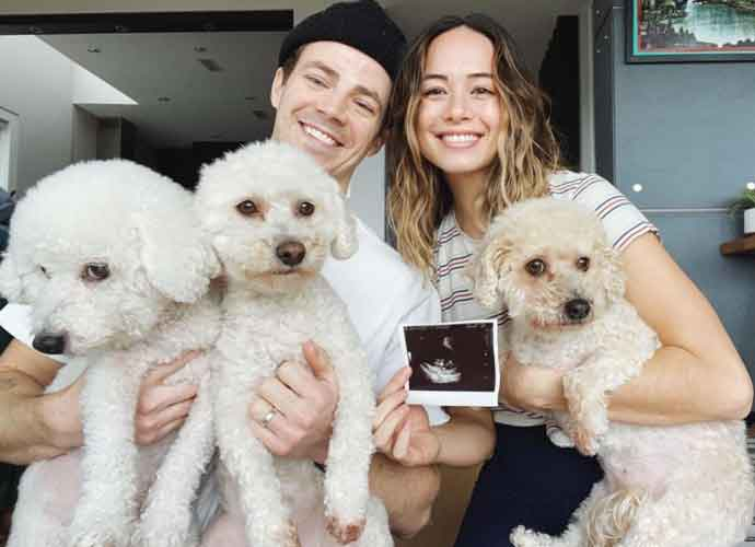 The Flash's Grant Gustin Expecting First Child With Wife LA Thoma