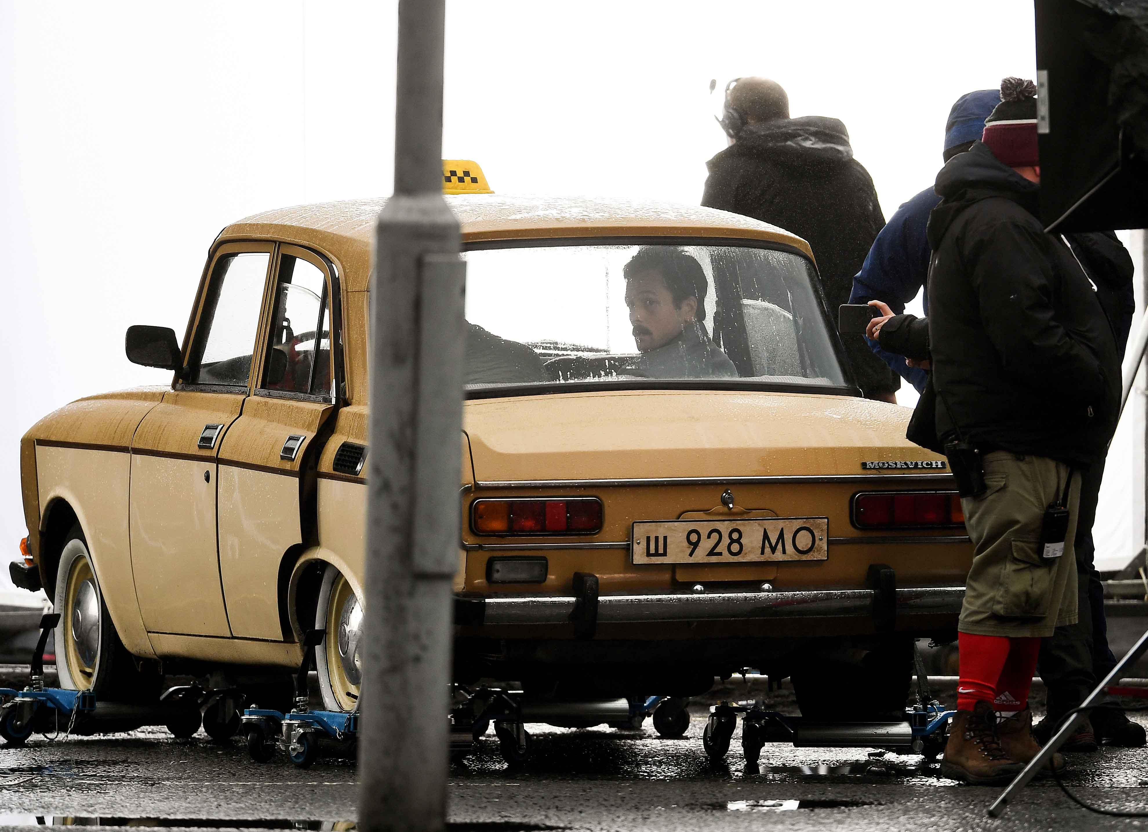'Tetris' Filming Transforms Glasgow Scotland Into 1980s Russia With Taron Egerton